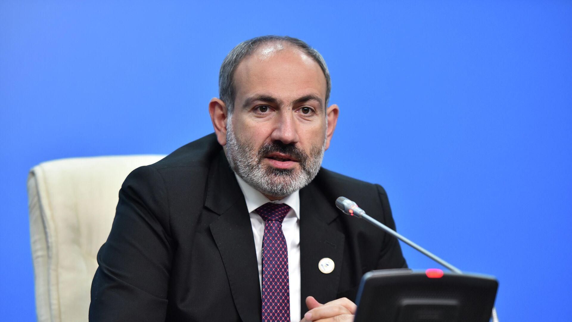 Премьер-министр Армении Никол Пашинян - РИА Новости, 1920, 03.05.2021
