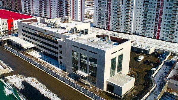 Новое здание регионального МВД в городе Черкесске