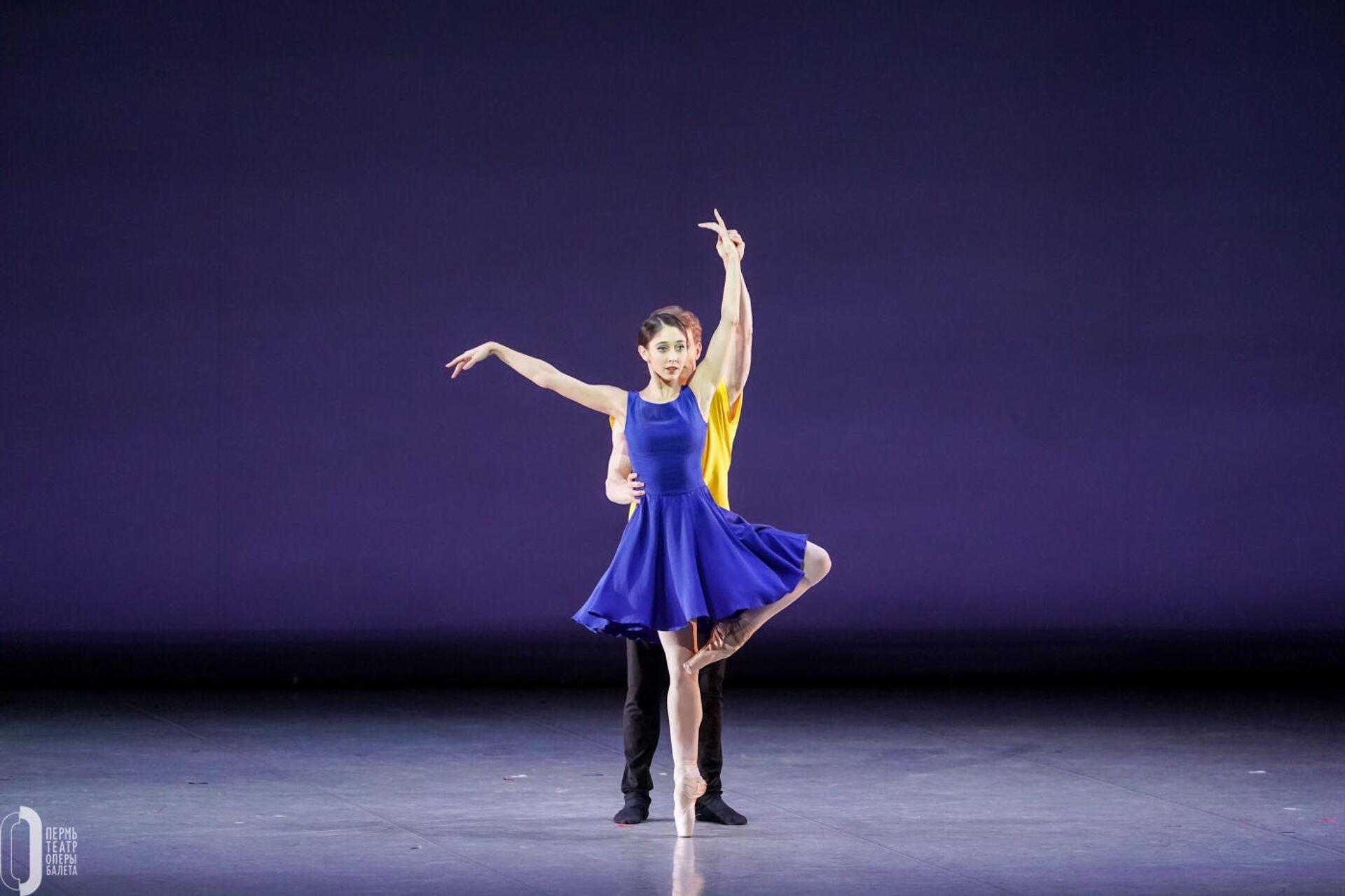 Сцена из балета Озорные песни, Вариации на тему рококо, Шут  - РИА Новости, 1920, 26.02.2021