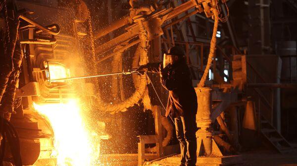 Металлургический завод Красный Октябрь в Волгограде