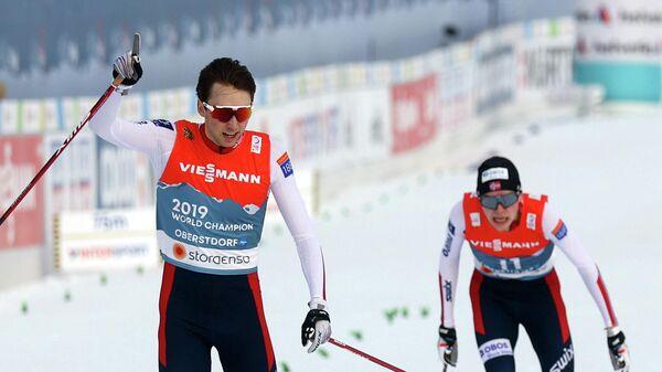 Норвежский лыжный двоеборец Ярл Магнус Риибер