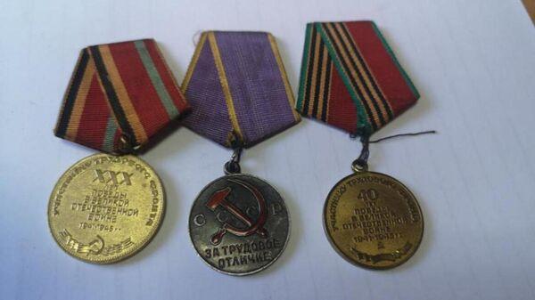 Украденные медали жительницы Омской области