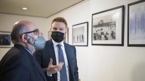 Открытие выставки победителей конкурса им. Андрея Стенина-2020 в Мадриде