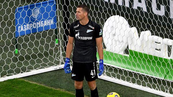 Вратарь ФК Зенит Михаил Кержаков