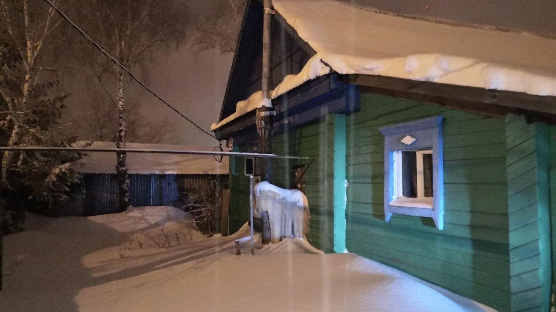 В селе Сергиевск Самарской области три человека отравились угарным газом - РИА Новости, 1920, 27.02.2021