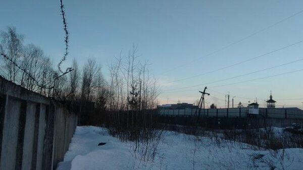 Кадры исправительной колонии № 2 в Покрове, куда доставили Навального