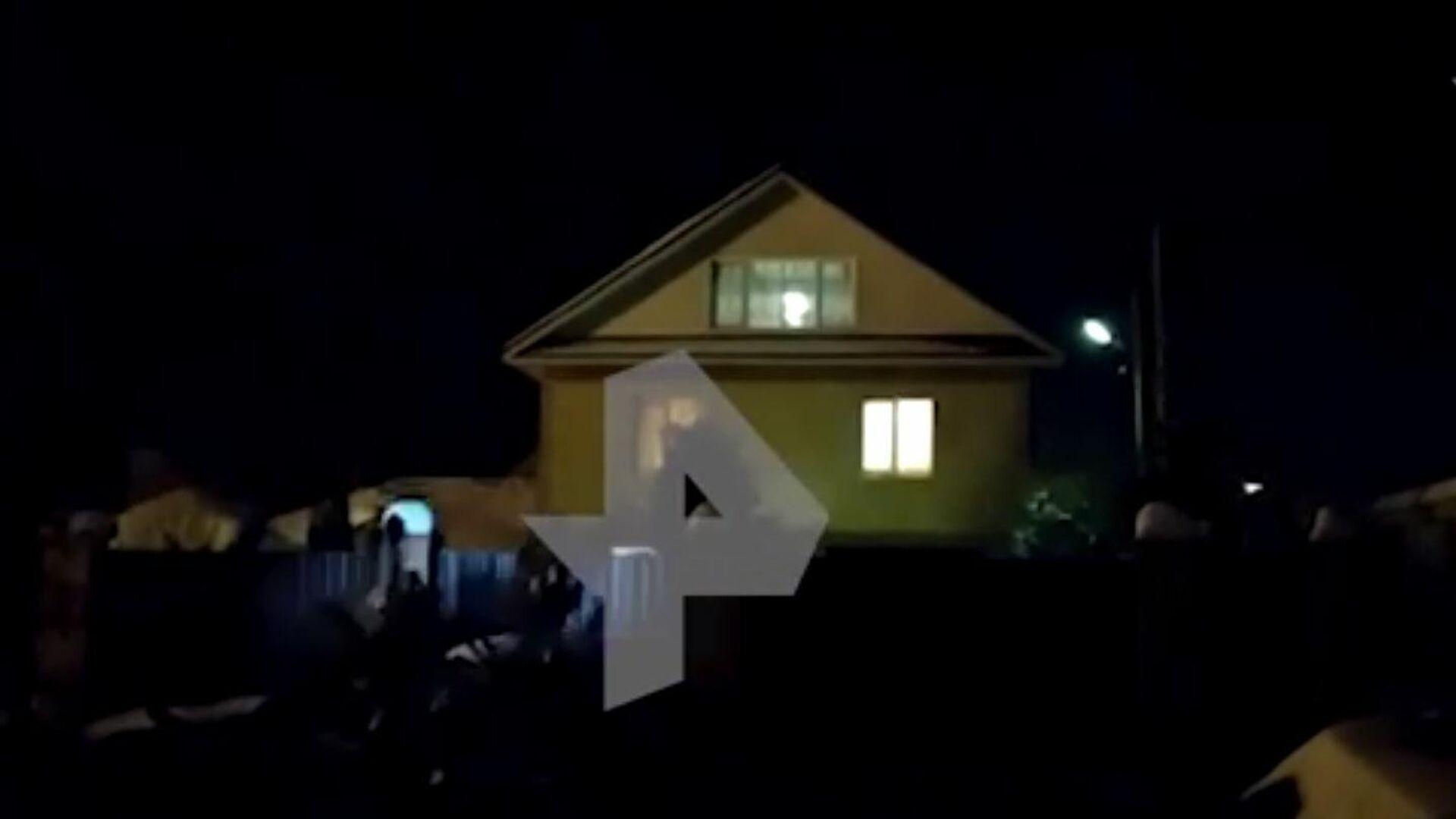 Видео с места убийства семьи в Нижегородской области - РИА Новости, 1920, 01.03.2021