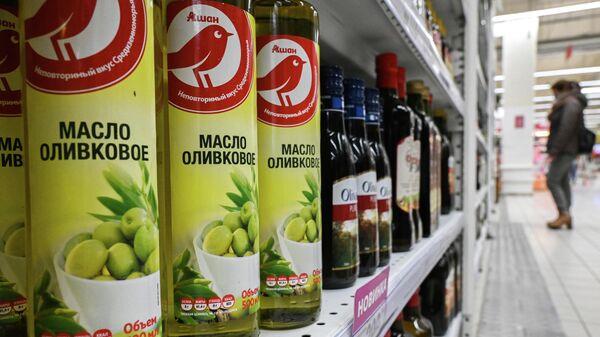 Продажа оливкового масла в сети продуктовых гипермаркетов Ашан (Auchan) в МосквеПродажа оливкового масла в Москве