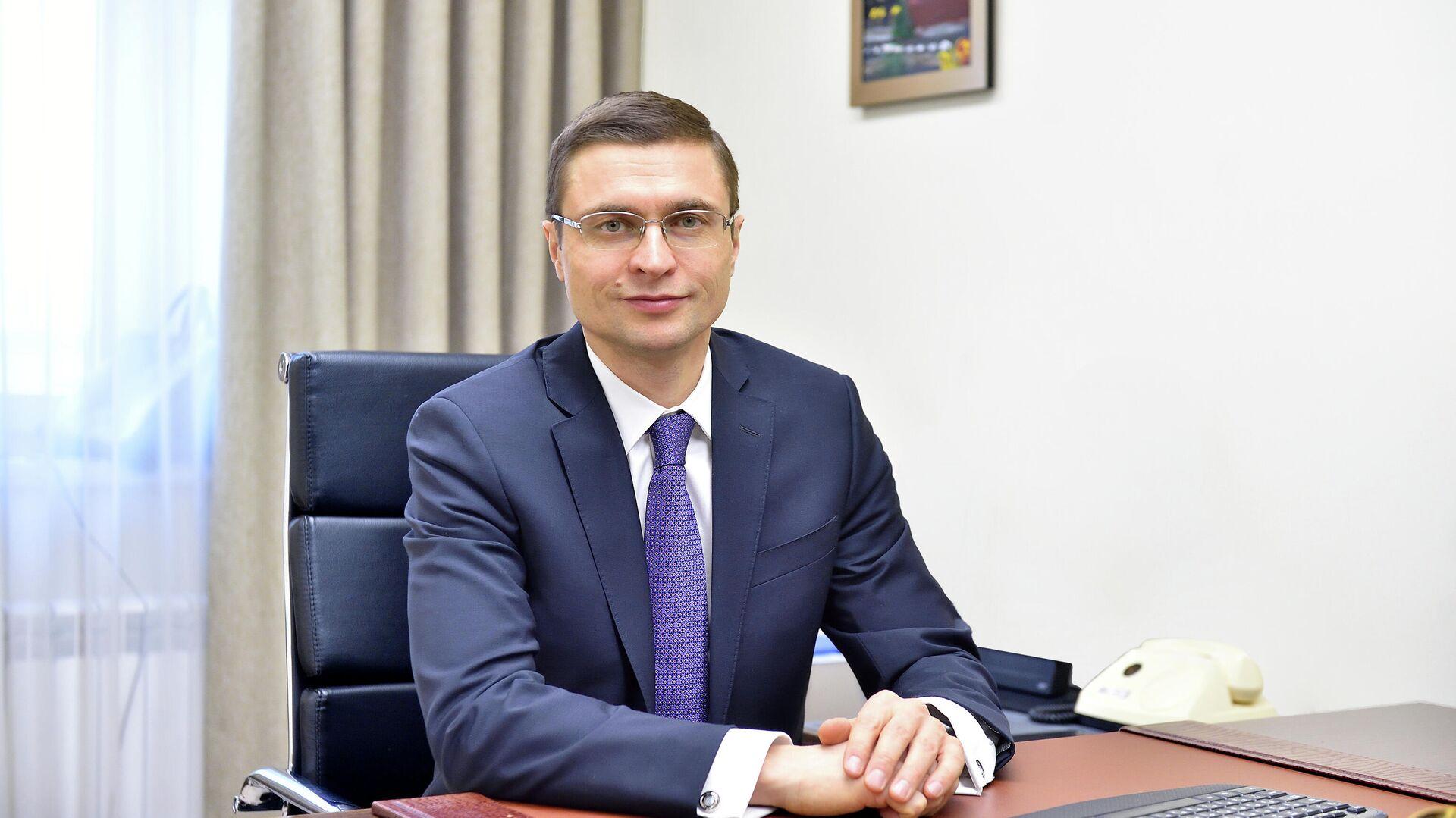 Глава департамента строительства Москвы Рафик Загрутдинов - РИА Новости, 1920, 02.03.2021