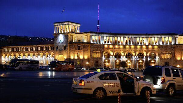 Площадь Республики в городе Ереване