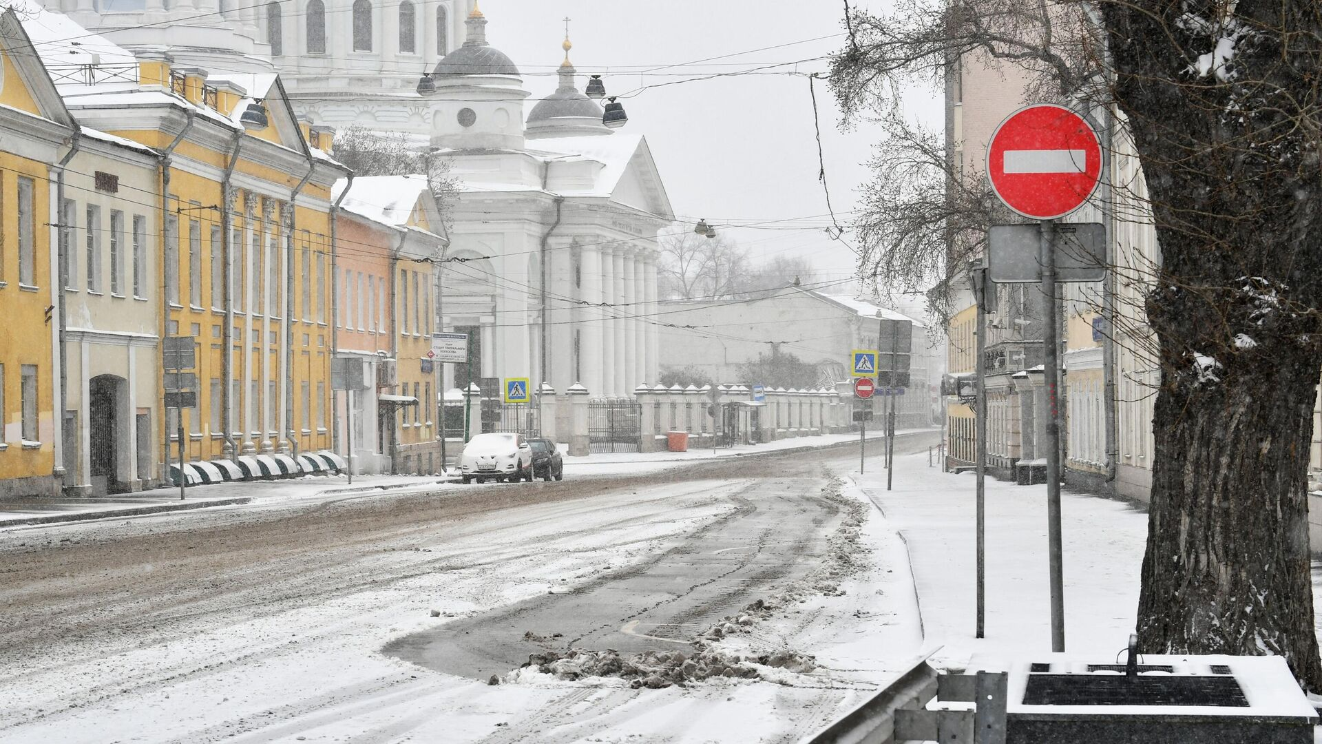 Улица Солженицына в Москве - РИА Новости, 1920, 02.03.2021