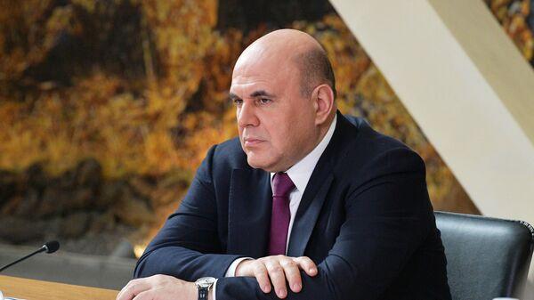 Председатель правительства РФ Михаил Мишустин проводит встречу с представителями туристического бизнеса по вопросу развития туризма в Республике Алтай