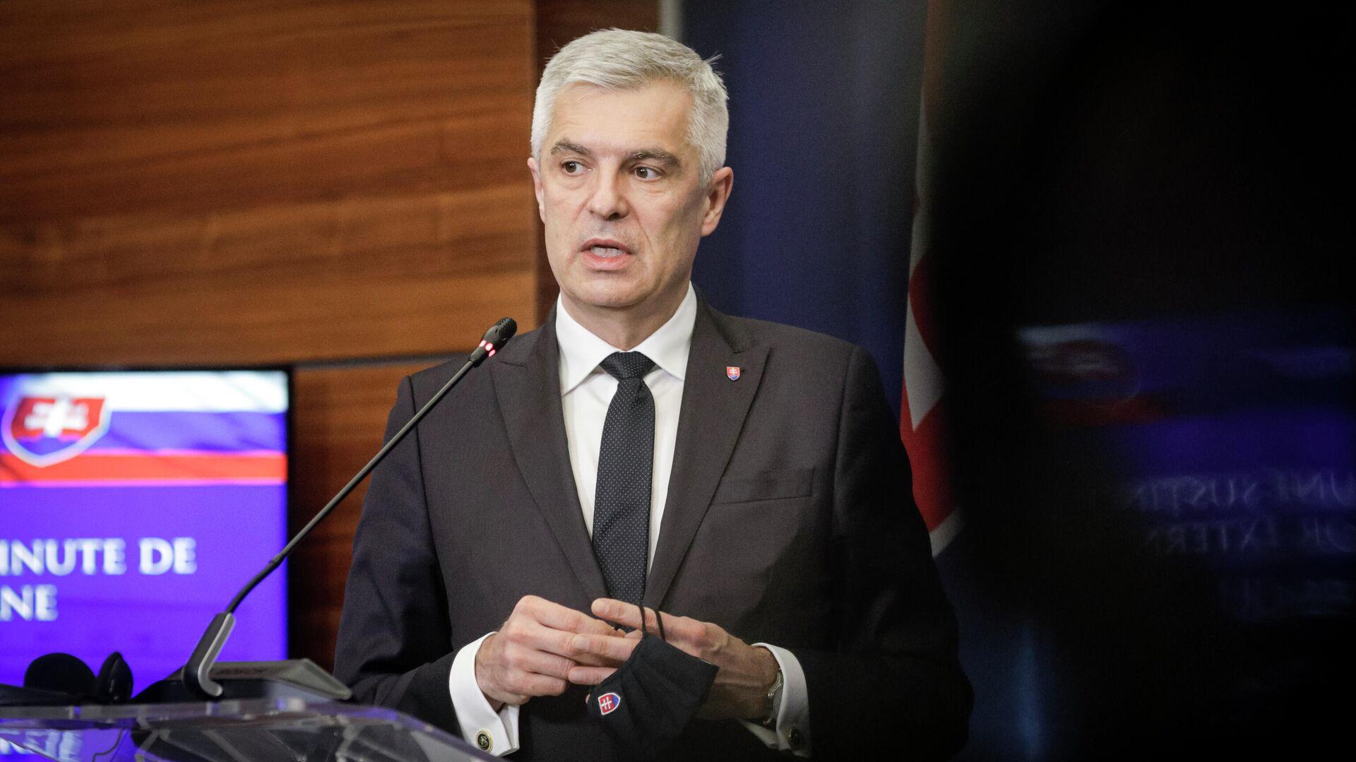 МИД Словакии призвал остановить негативную спираль в отношениях с Россией