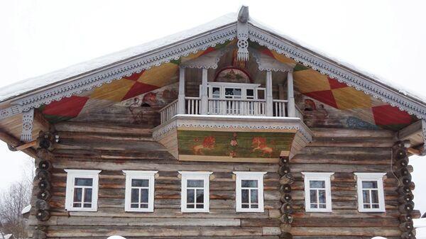 Музей домовых росписей Поважья, фасад