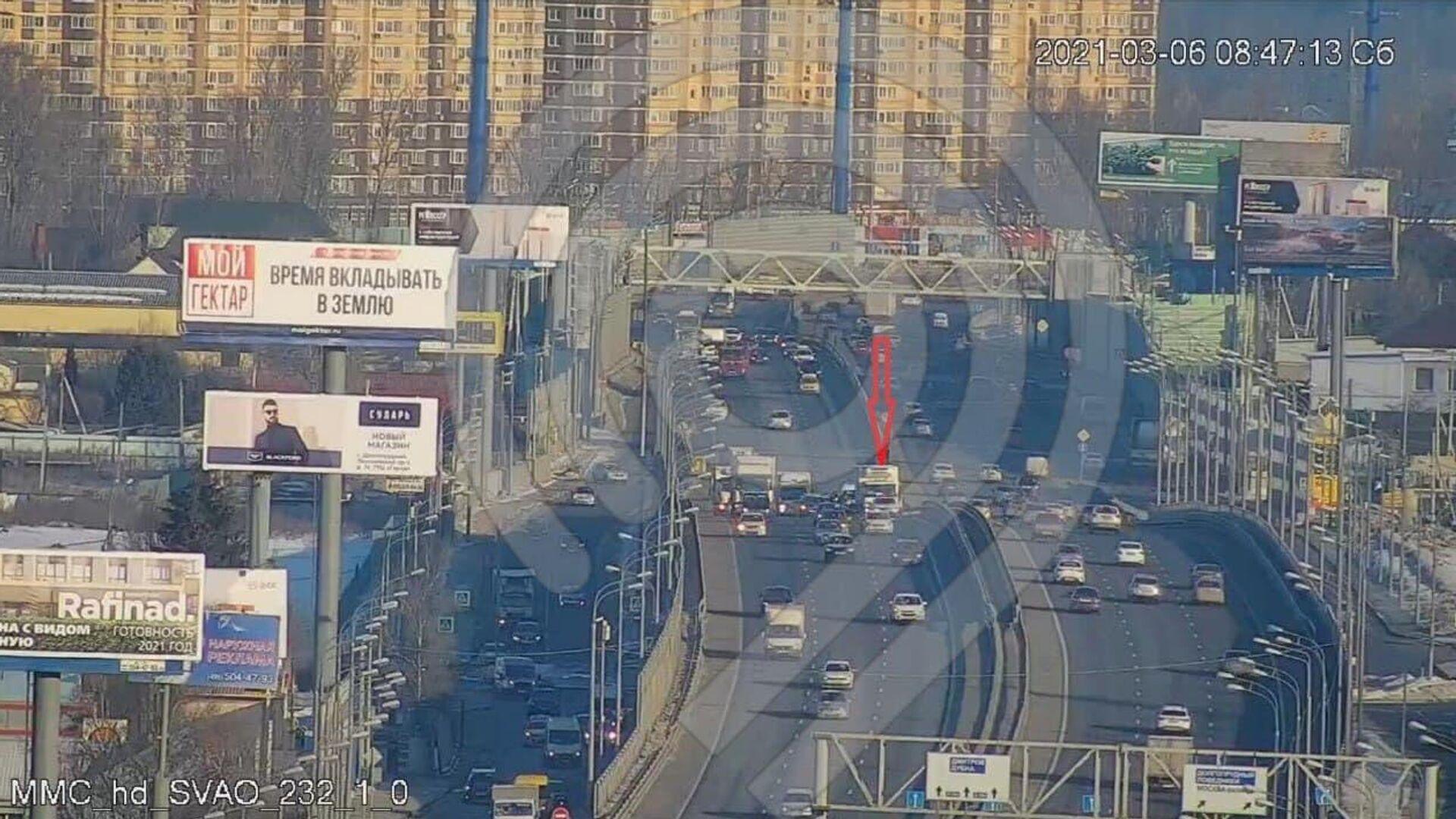 В Москве водитель сбил пешехода