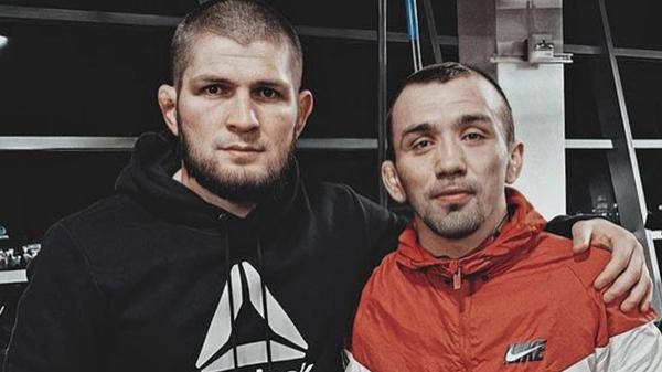 Хабиб Нурмагомедов и Аскар Аскаров