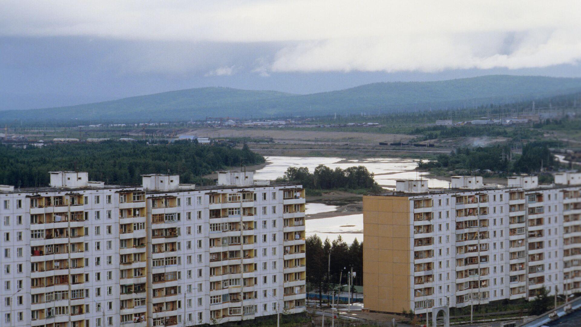 Город Тында – столица БАМа - РИА Новости, 1920, 09.03.2021