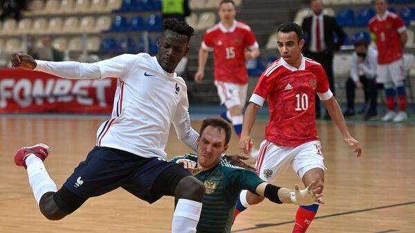 Мини-футбол. Квалификация ЧЕ-2022. Матч Россия - Франция