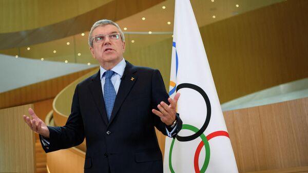 Глава Международного олимпийского комитета (МОК) Томас Бах