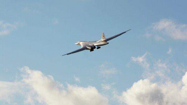 Первый модернизированный стратегический бомбардировщик Ту-160М