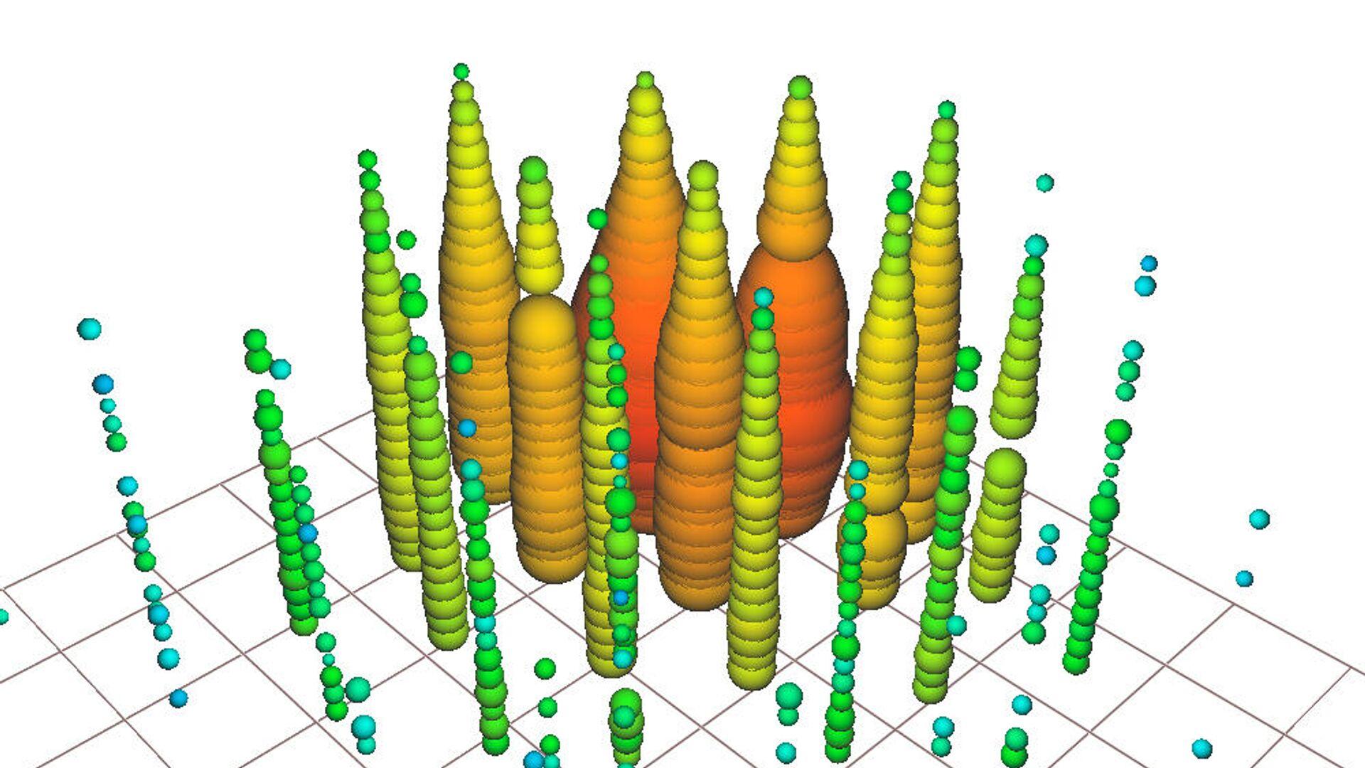 Детекторы IceCube зафиксировали образование новых частиц из антинейтрино