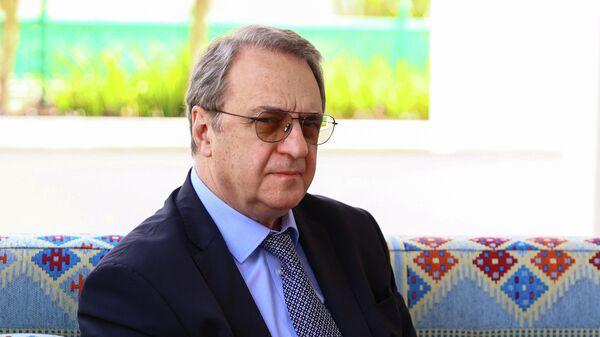 Заместитель министра иностранных дел РФ Михаил Богданов в Катаре