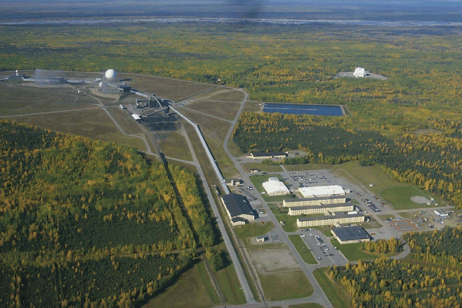 Радиолокационная станция ВВС США Clear Air Force Station на Аляске - РИА Новости, 1920, 25.03.2021
