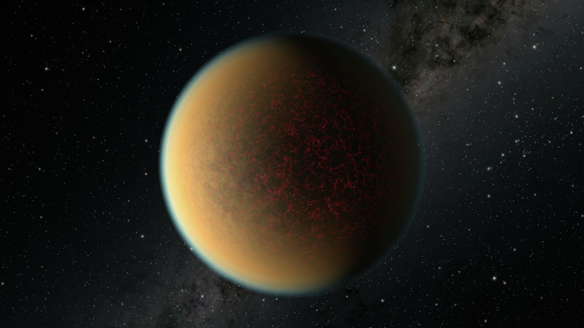 Художественное представление экзопланеты GJ 1132 b - РИА Новости, 1920, 12.03.2021