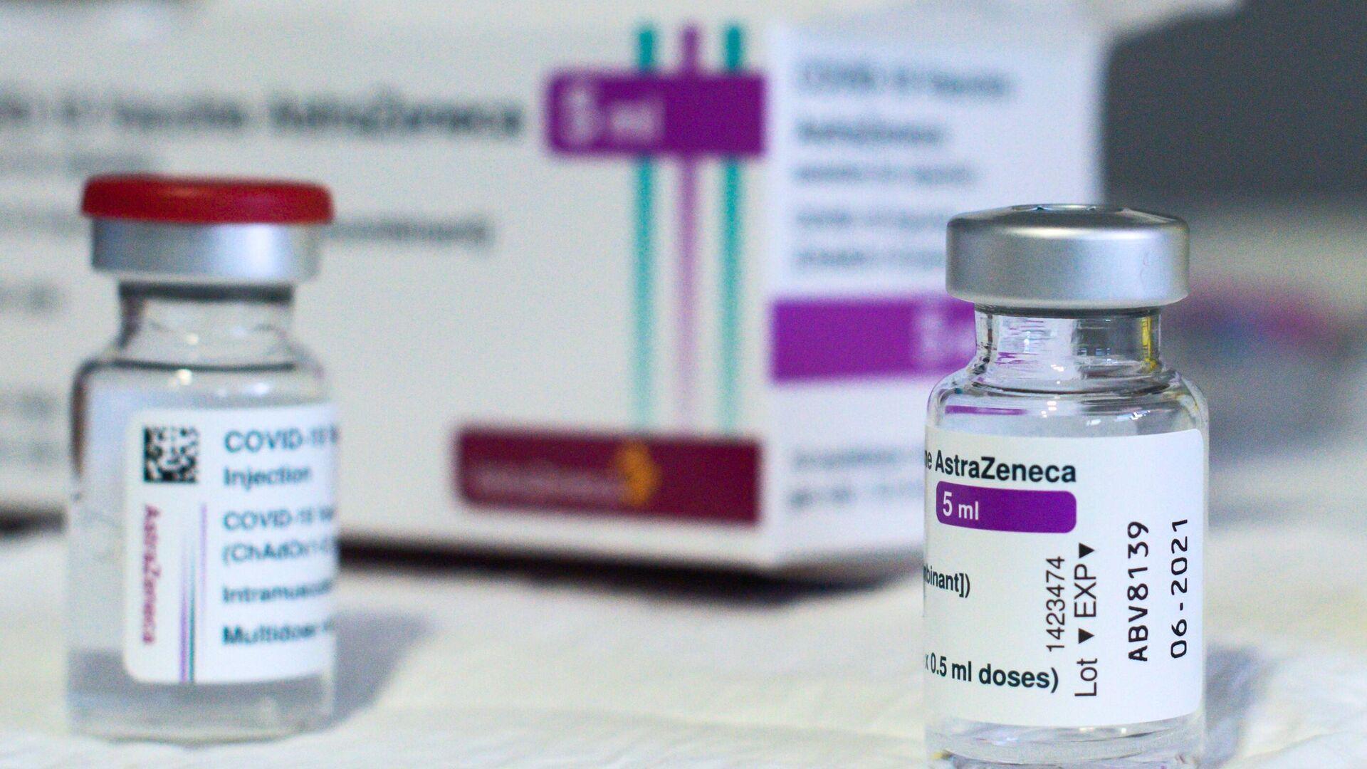 Вакцина Oxford/AstraZeneca от COVID-19  - РИА Новости, 1920, 23.03.2021