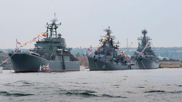 Корабли Черноморского флота России в Крыму