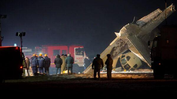 Крушение самолета Ан-26 в Казахстане