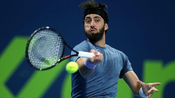 Грузинский теннисист Николоз Басилашвили