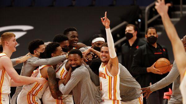 Баскетболисты Атланты