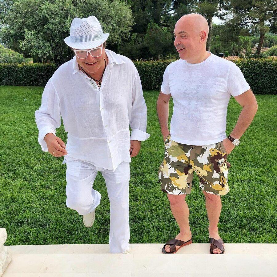Михаил Грушевский с Дмитрием Дибровым в Испании
