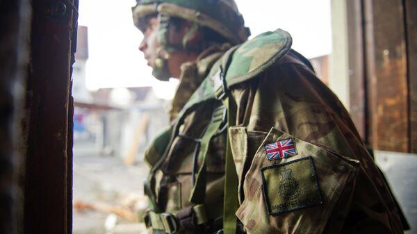 Британский курсант Королевской военной академии