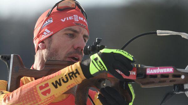 Биатлонист Арнд Пайффер (Германия)