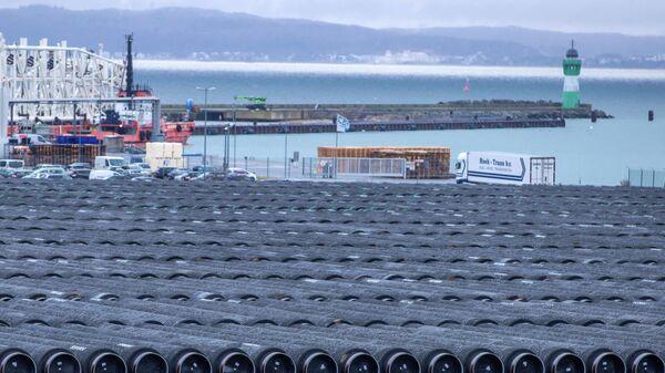 Трубы для строительства газопровода Северный поток 2