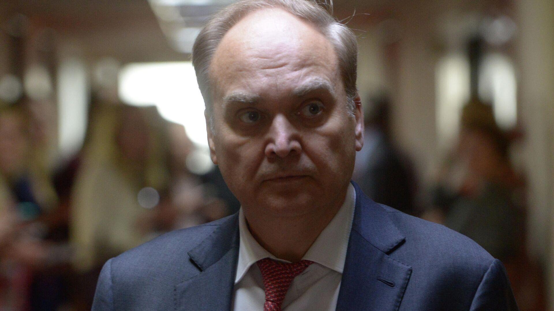 Посол РФ в США Анатолий Антонов - РИА Новости, 1920, 22.07.2021