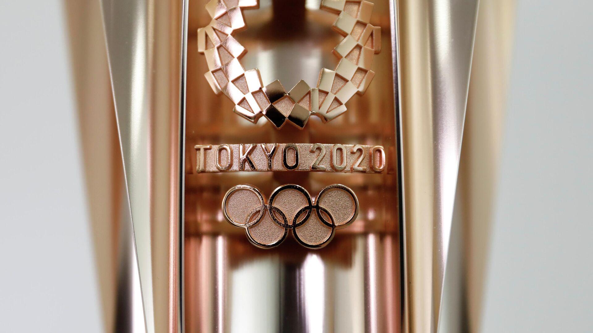 Факел Олимпийских игр 2020 года в Токио - РИА Новости, 1920, 01.04.2021