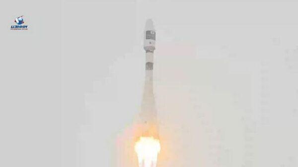 Ракета Союз-2.1а улетела с космодрома Байконур