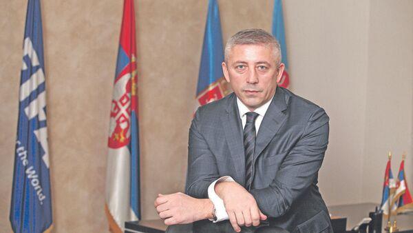 Экс-президент Футбольного союза Сербии Славиша Кокеза