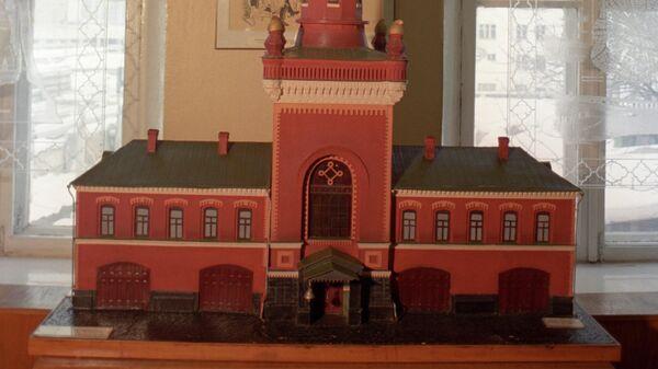 Макет пожарной каланчи. Московский музей пожарной охраны