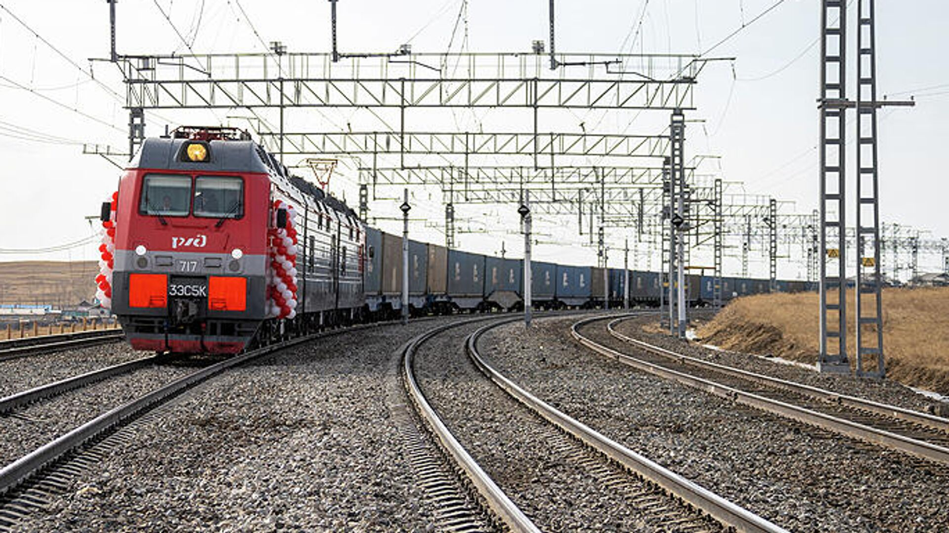 РЖД рассказали о вариантах перевозки грузов вдвое быстрее Суэцкого канала