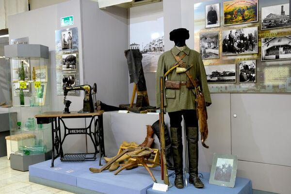Экспозиция национального музея Удмуртской Республики имени Кузебая Герда