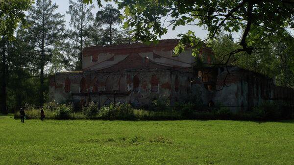 Здание Китайского театра на территории государственного музея-заповедника Царское село в Пушкине