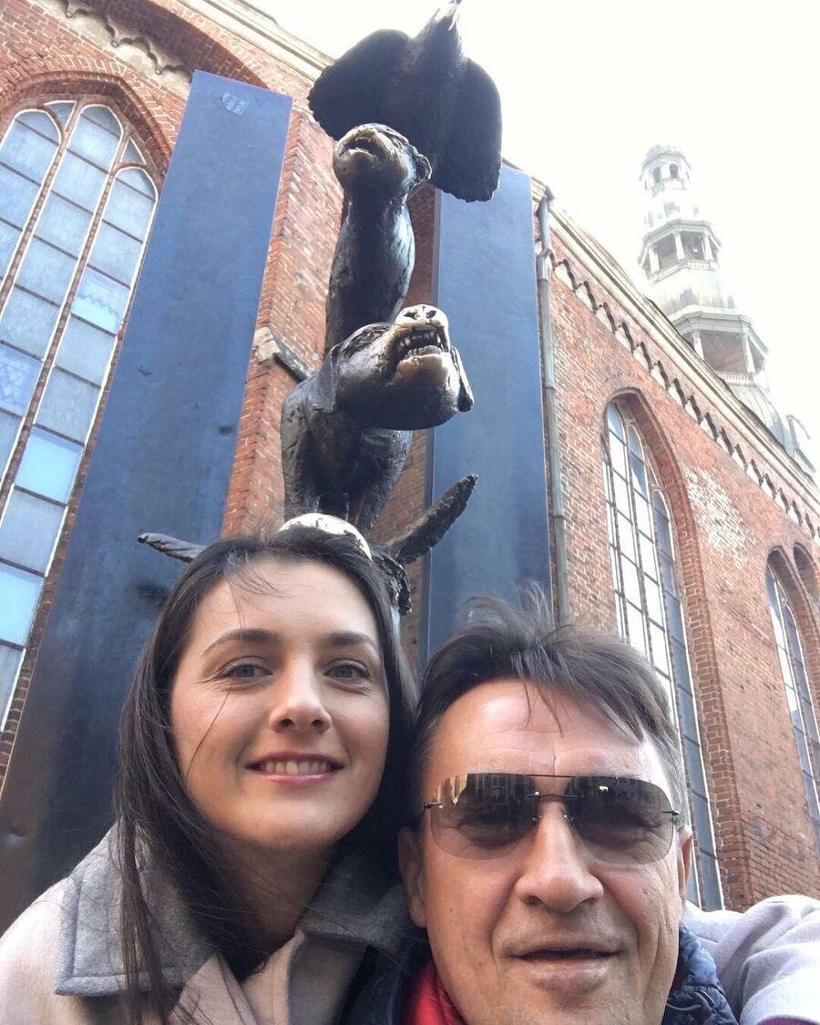 Камиль Ларин и Екатерина в Риге
