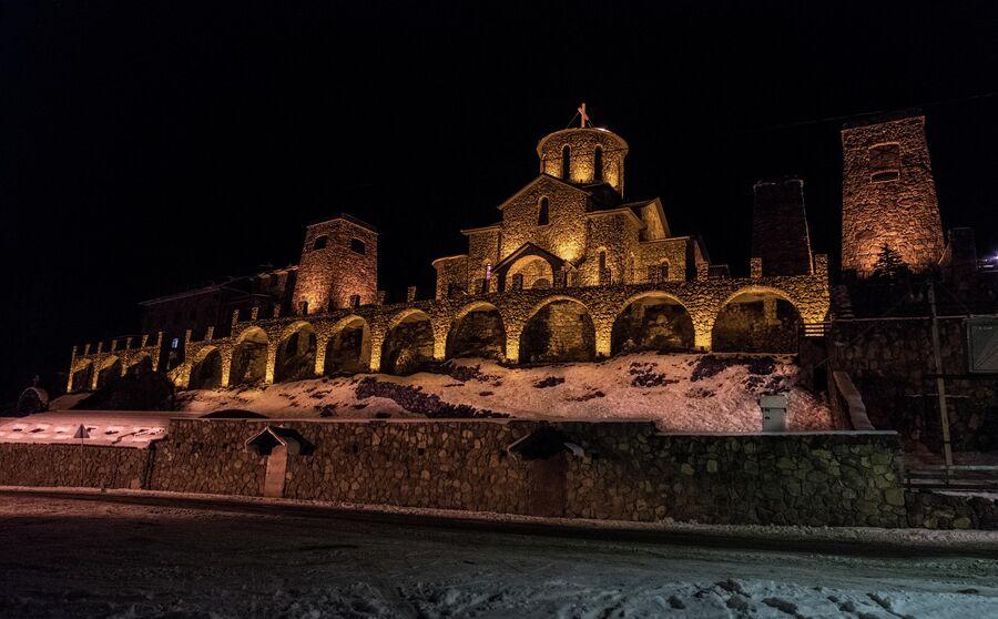 Аланский Свято-Успенский мужской монастырь в Верхнем Фиагдоне