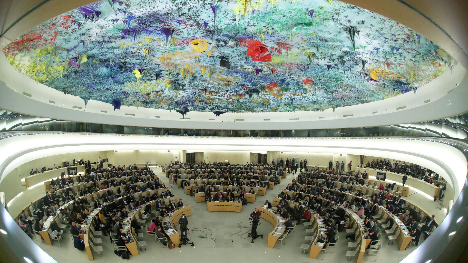 Заседание Совета по правам человека ООН в Женеве - РИА Новости, 1920, 14.04.2021