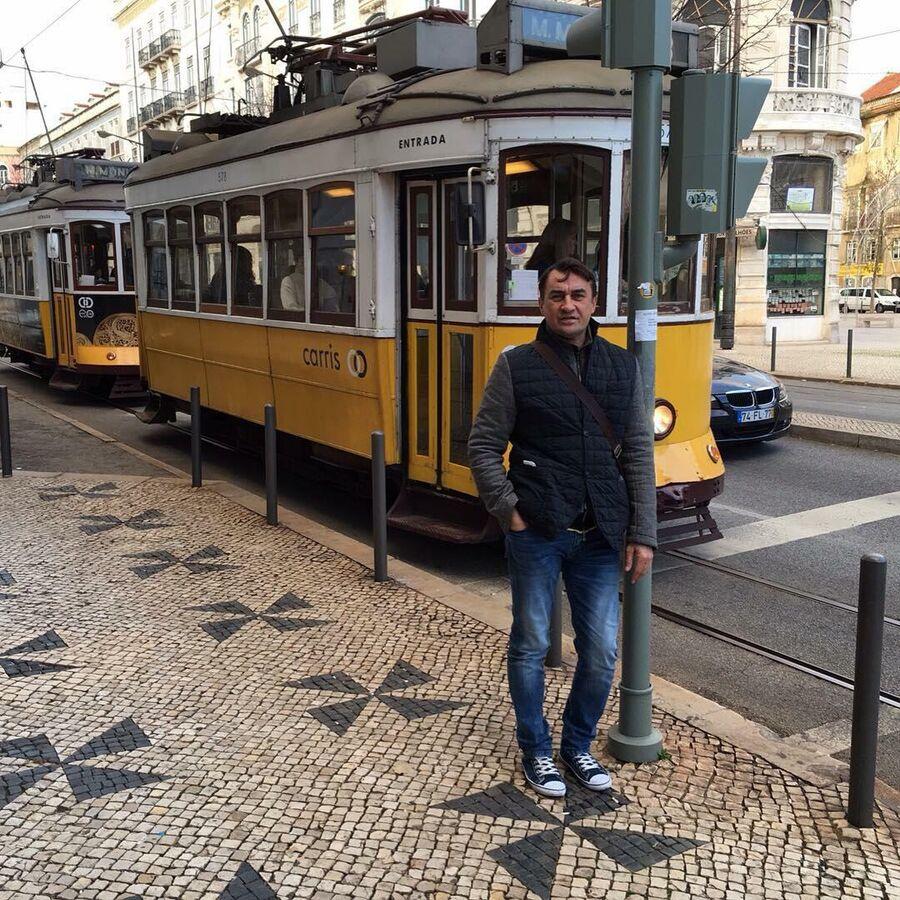 Камиль Ларин в Лиссабоне