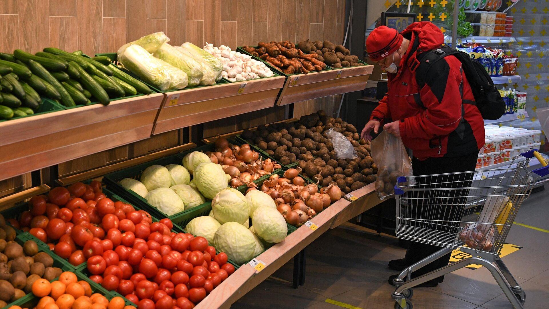Россияне рассказали, сколько тратят на продукты в месяц